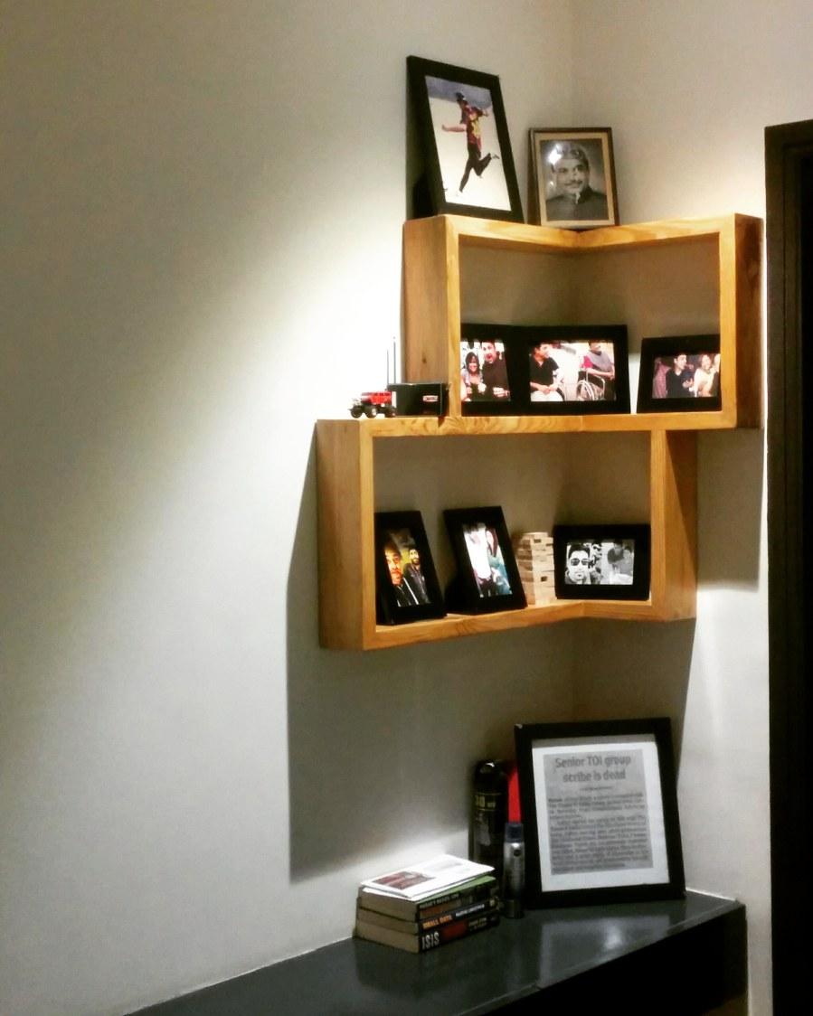Beautiful display unit to put photos by RopedDesign Indoor-spaces | Interior Design Photos & Ideas