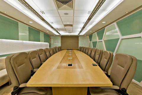 Office conference room decor by Rajesh Kumar  Modern | Interior Design Photos & Ideas