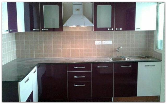 L-shaped modular kitchen design by Sweethomez Modular-kitchen Modern   Interior Design Photos & Ideas