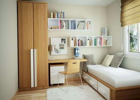 Trendy study room decor by Sweethomez Indoor-spaces Modern | Interior Design Photos & Ideas