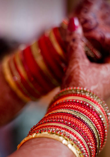 Red and Golden Bangles by Hazel Captures Wedding-photography | Weddings Photos & Ideas
