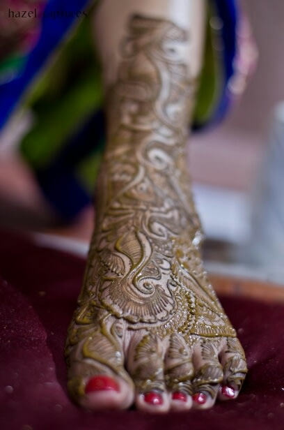 Bridal Mehendi Shot by Hazel Captures Wedding-photography | Weddings Photos & Ideas