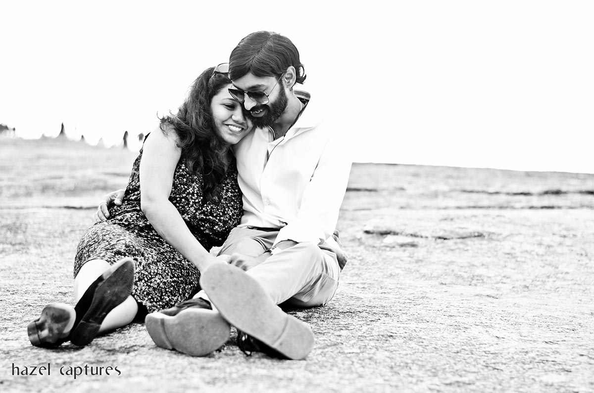 Black and White Couple Portrait by Hazel Captures Wedding-photography | Weddings Photos & Ideas