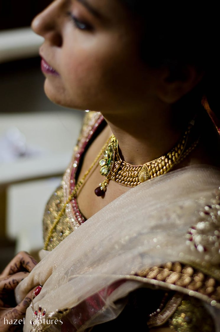 Bride Getting Ready Shot by Hazel Captures Wedding-photography | Weddings Photos & Ideas