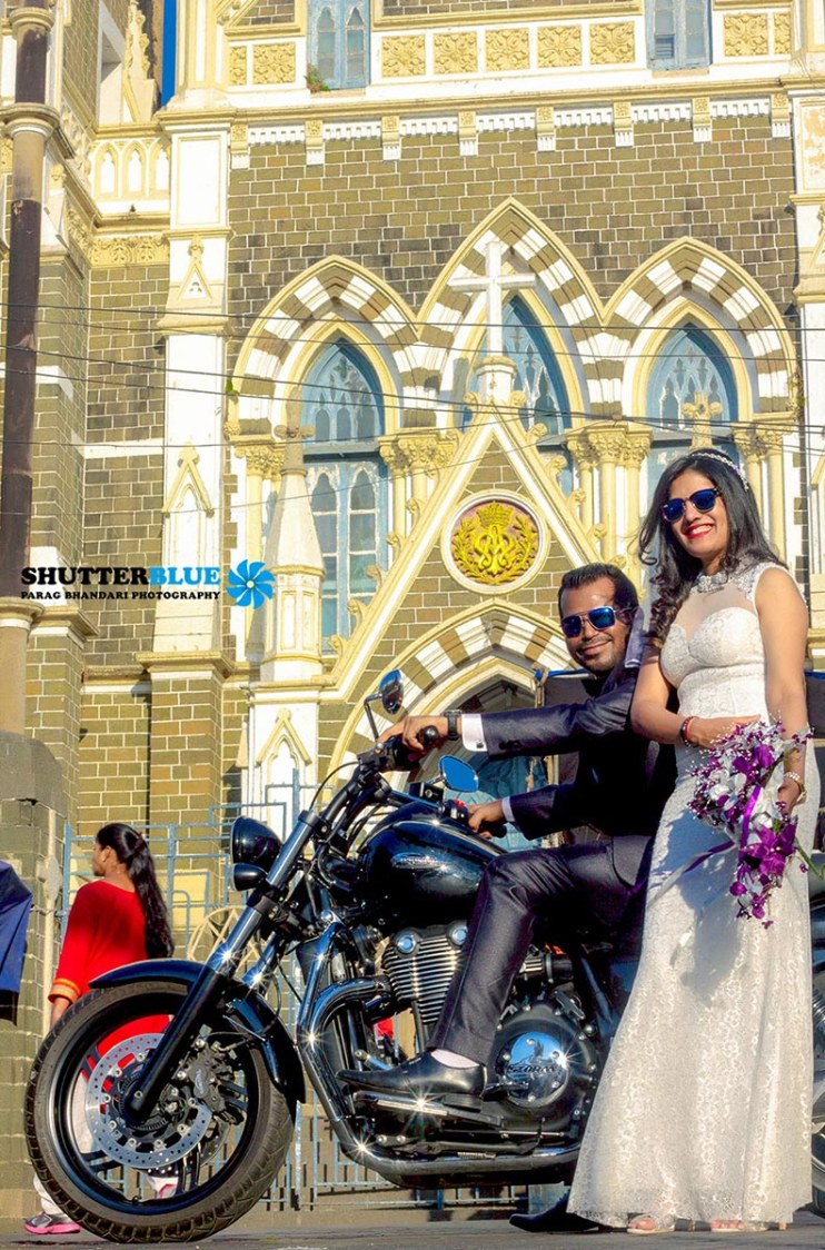 Peppy Couple Portrait by Shutter Blue - Parag Bhandari Photography Wedding-photography | Weddings Photos & Ideas