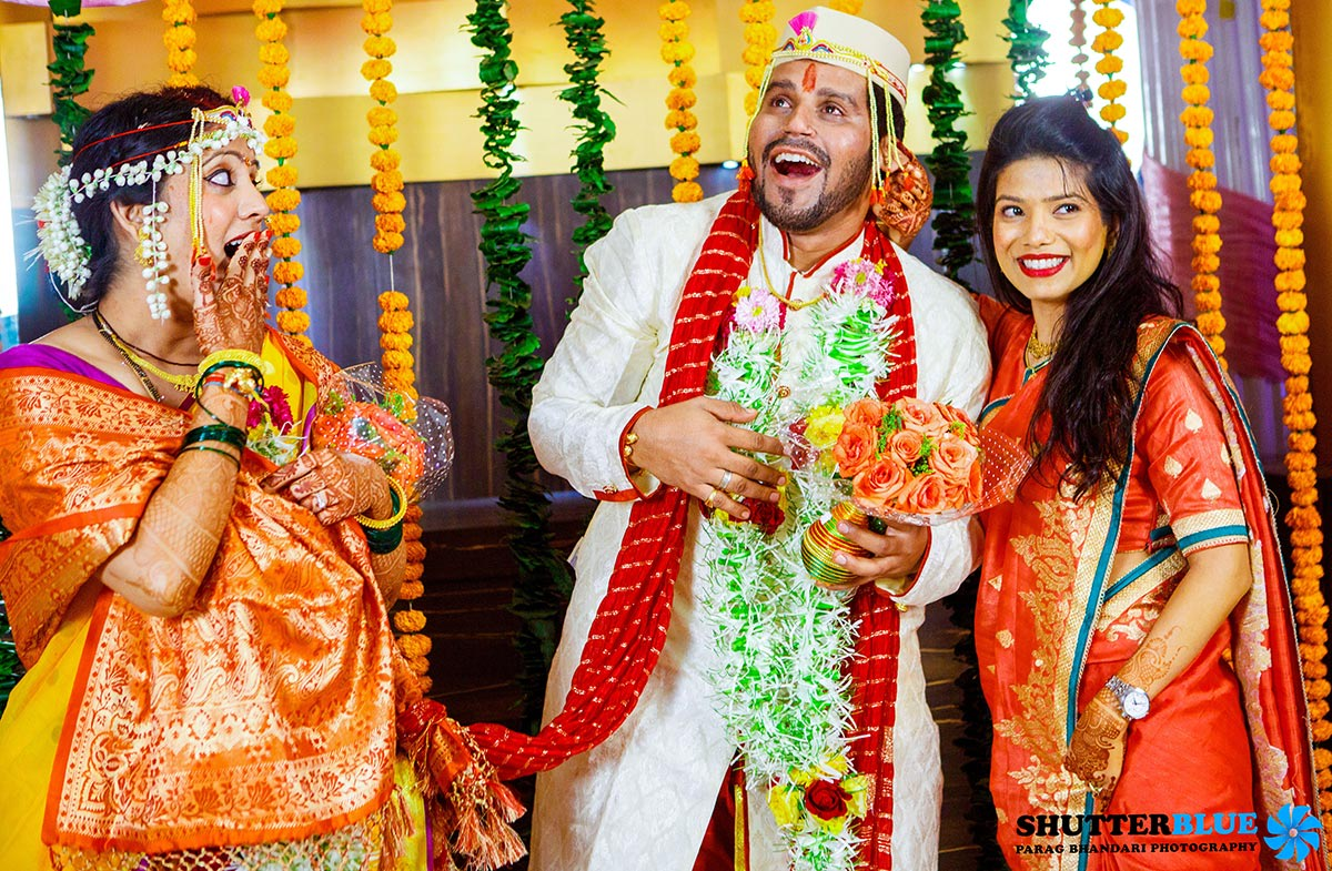 Bride and Groom Wedding Day Shot by Shutter Blue - Parag Bhandari Photography Wedding-photography | Weddings Photos & Ideas