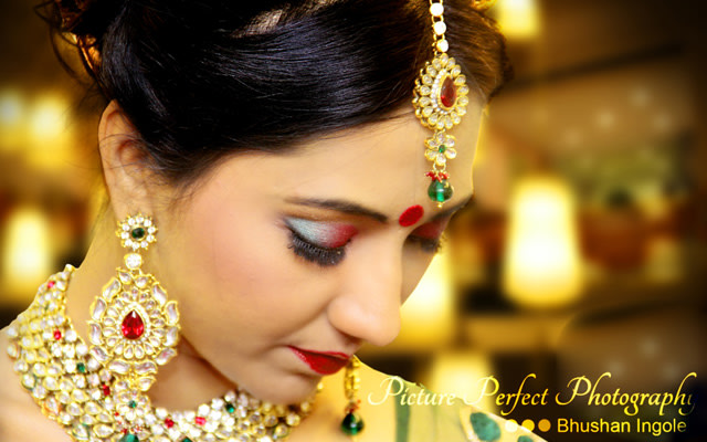 A picture of the elegant bride by Picture perfect photography  Wedding-photography | Weddings Photos & Ideas