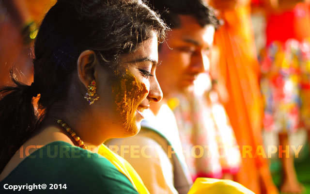 Bride drenched in haldi by Picture perfect photography  Wedding-photography | Weddings Photos & Ideas