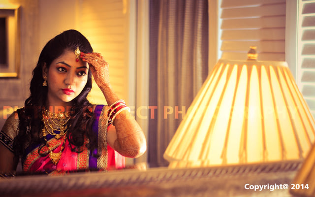 A beautiful portrait of the bride by Picture perfect photography  Wedding-photography | Weddings Photos & Ideas