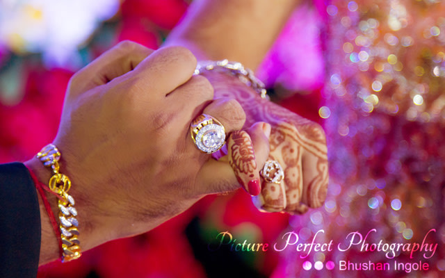 The bride and grooms eye-catching jewellery by Picture perfect photography  Bridal-jewellery-and-accessories Groom-wear-and-accessories | Weddings Photos & Ideas