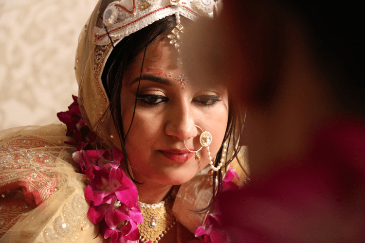 A candid photo of the Stunning Bride by Basundi Photography Wedding-photography | Weddings Photos & Ideas