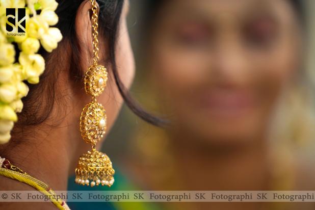 Elegant Ear Ring by SK Fotographi Wedding-photography | Weddings Photos & Ideas