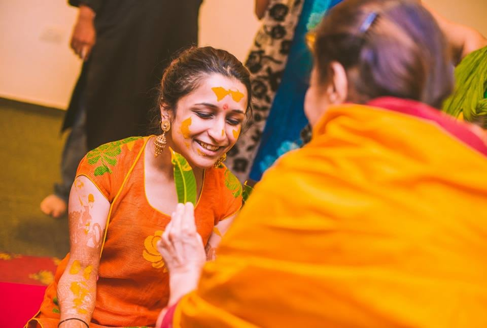 The haldi of a bride! by Kuntal Mukherjee Photography Wedding-photography | Weddings Photos & Ideas