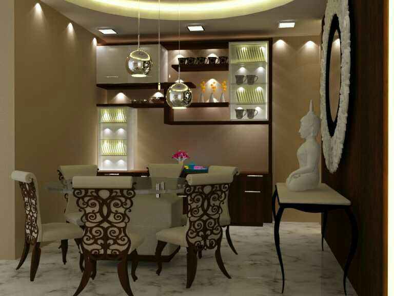 Modern Dining Table! by Florence Management Services Dining-room   Interior Design Photos & Ideas