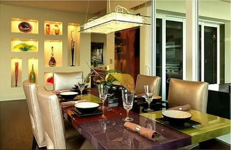 A Stunning Dining Room! by Florence Management Services Dining-room   Interior Design Photos & Ideas