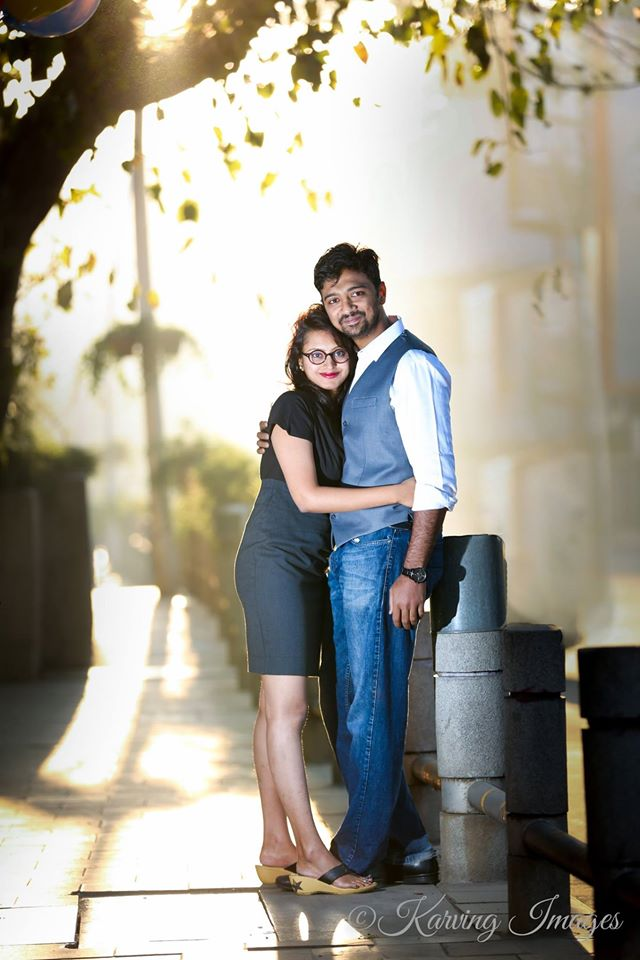 Bride and Groom To Be In a Candid Romantic Mood by Priyanka Wedding-photography | Weddings Photos & Ideas