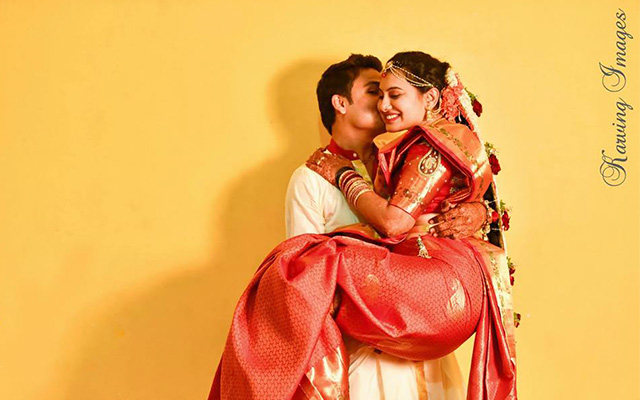 Romantic pose for pre-wedding shoot by Karving Images Wedding-photography | Weddings Photos & Ideas