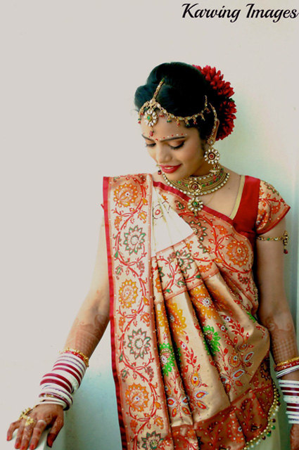 Resplendent bride in white lehenga with detailed motifs by Karving Images Wedding-photography | Weddings Photos & Ideas