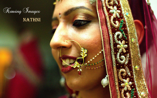 Beautiful bridal nath by Karving Images Wedding-photography | Weddings Photos & Ideas