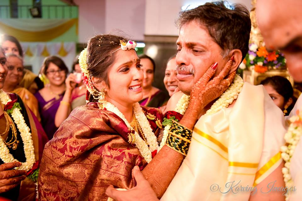 Bride high on emotions during bidai by Karving Images Wedding-photography | Weddings Photos & Ideas