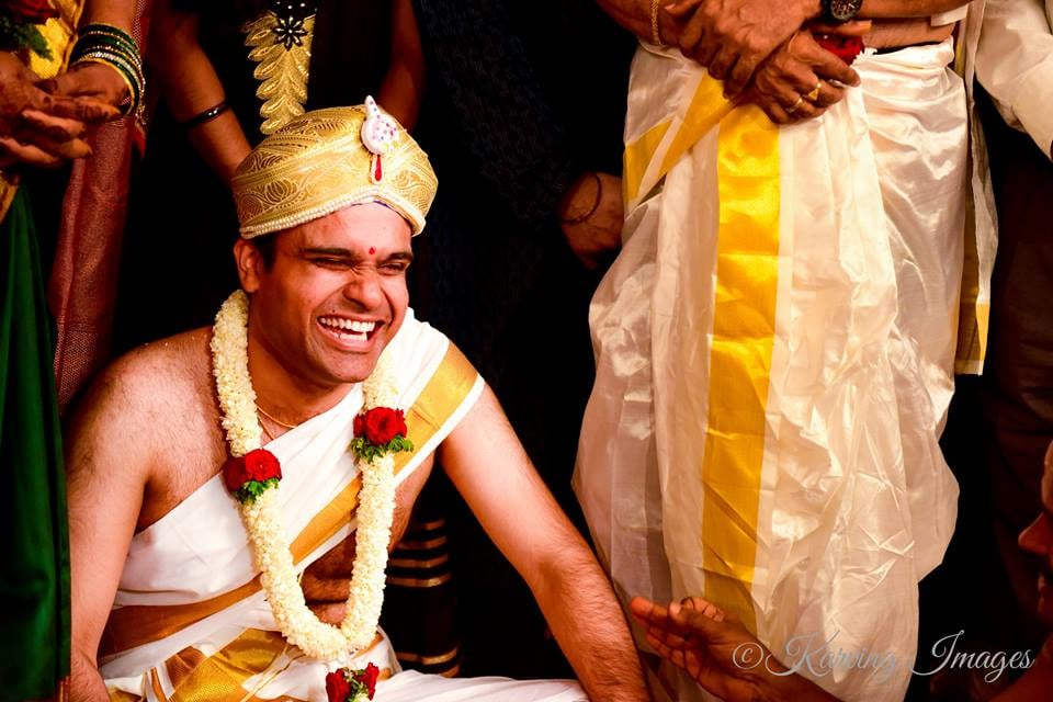 Happy groom during wedding by Karving Images Wedding-photography | Weddings Photos & Ideas