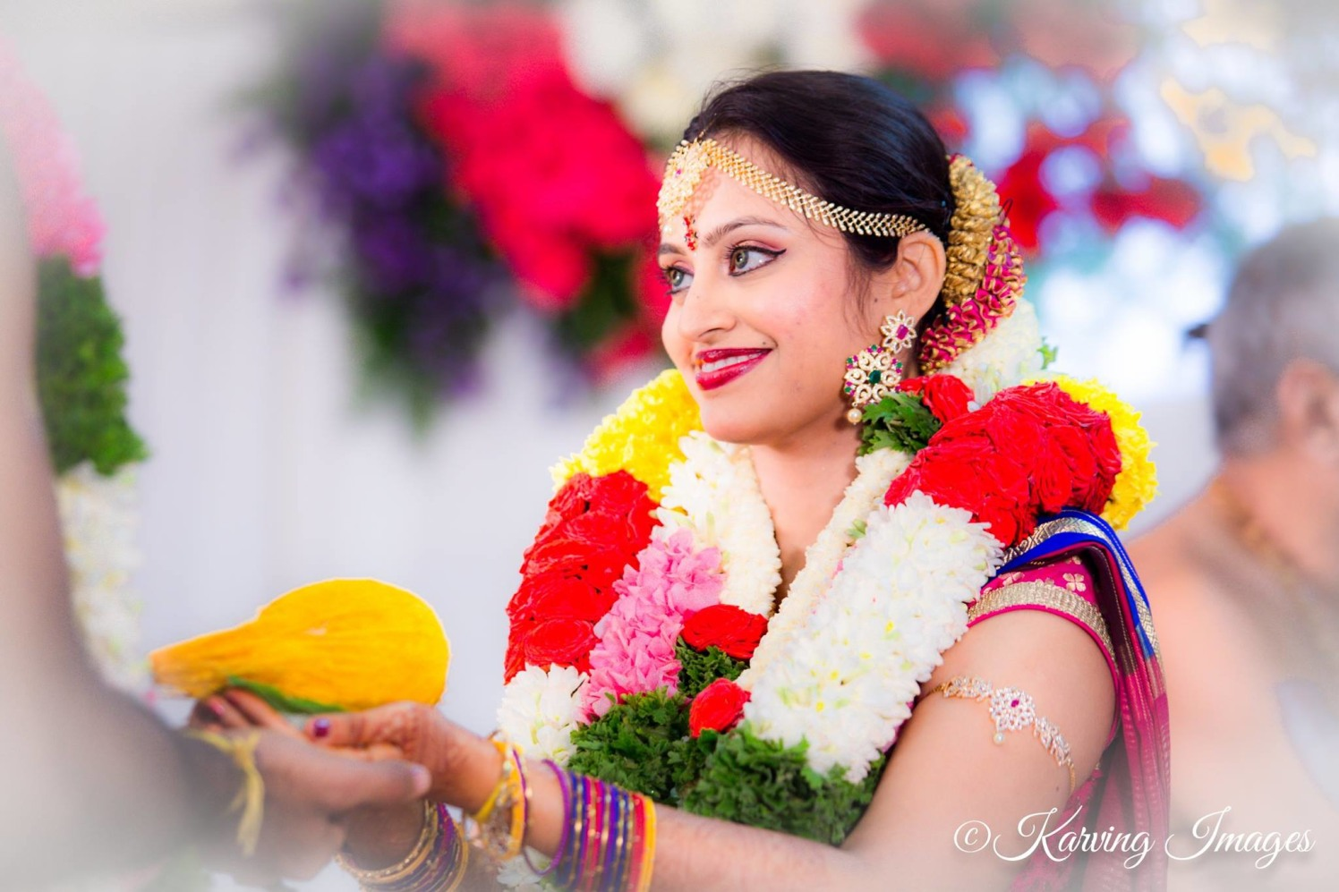 Beautiful bride during wedding ceremony by Karving Images Wedding-photography | Weddings Photos & Ideas