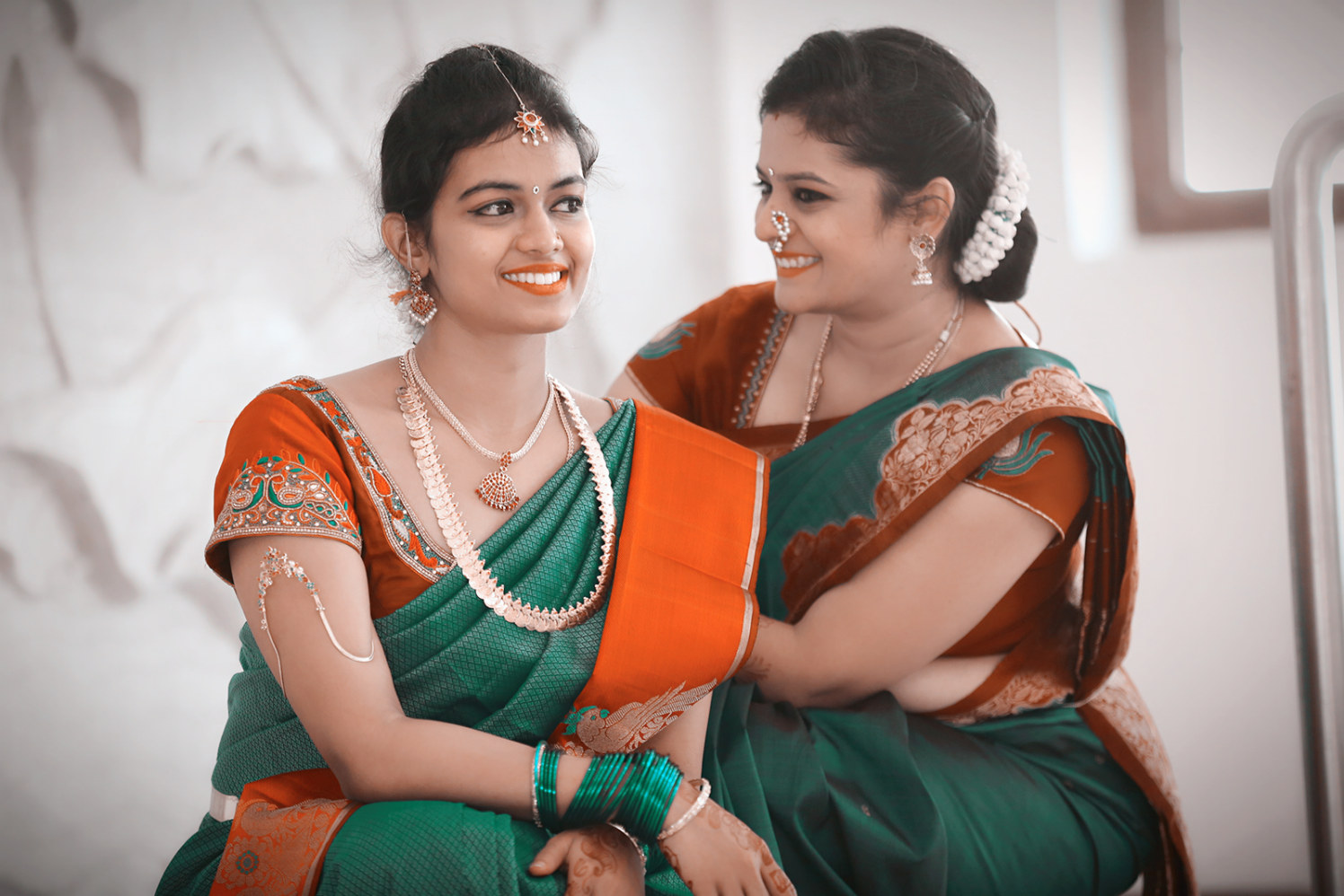 Resplendent marathi bride and mother of the bride by Karving Images Wedding-photography | Weddings Photos & Ideas