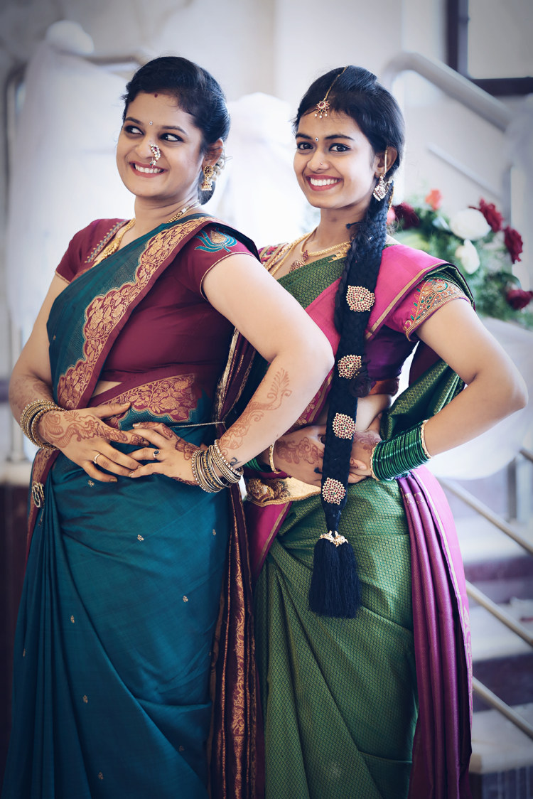 Gorgeous bride and friend of the bride pose by Karving Images Wedding-photography | Weddings Photos & Ideas