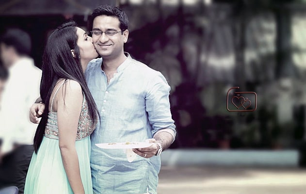 Bride and Groom To-Be Caught in a Romantic Mood by Ajay Wedding-photography | Weddings Photos & Ideas