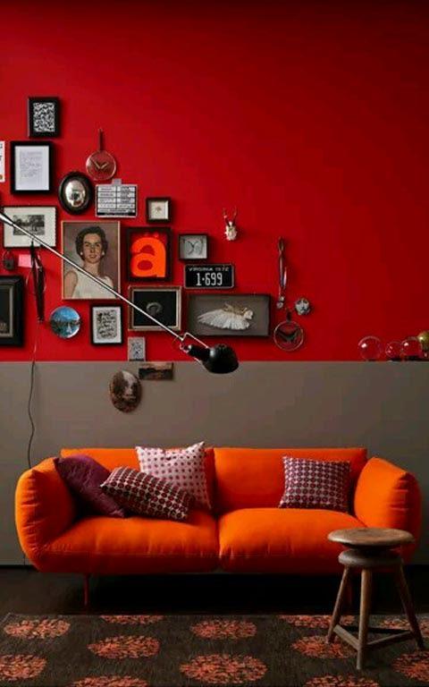 Contemporary living room decor by House Down The Lane Living-room Modern | Interior Design Photos & Ideas