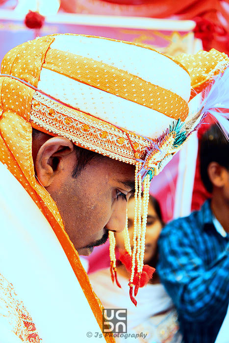 Groom looks down with responsibility by IS Photography Wedding-photography | Weddings Photos & Ideas