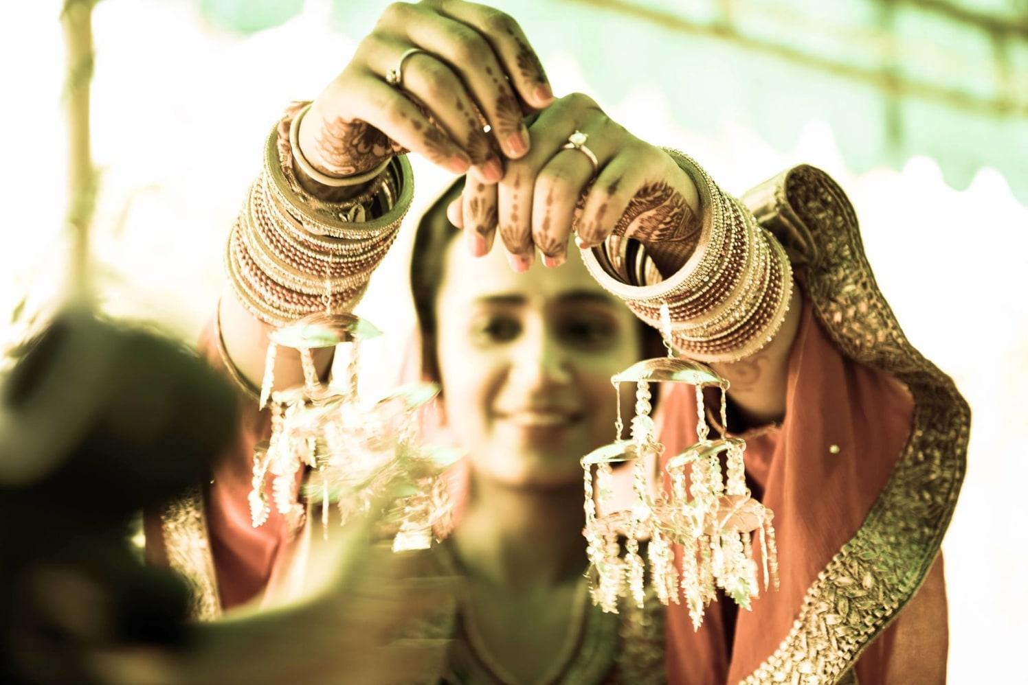 Enchanting punjabi bride backdrop by Himanshu's Lomography Wedding-photography | Weddings Photos & Ideas