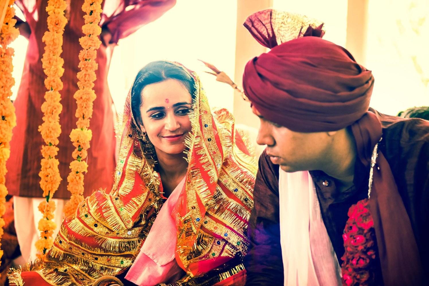 Enchanting bride on mandap by Himanshu's Lomography Wedding-photography | Weddings Photos & Ideas