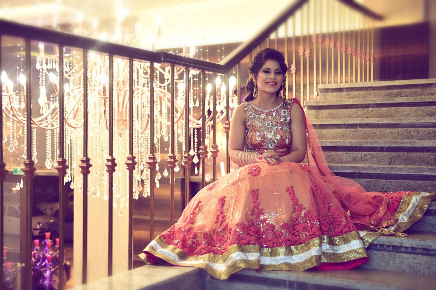 Elegant bride on her reception day by Himanshu's Lomography Wedding-photography | Weddings Photos & Ideas