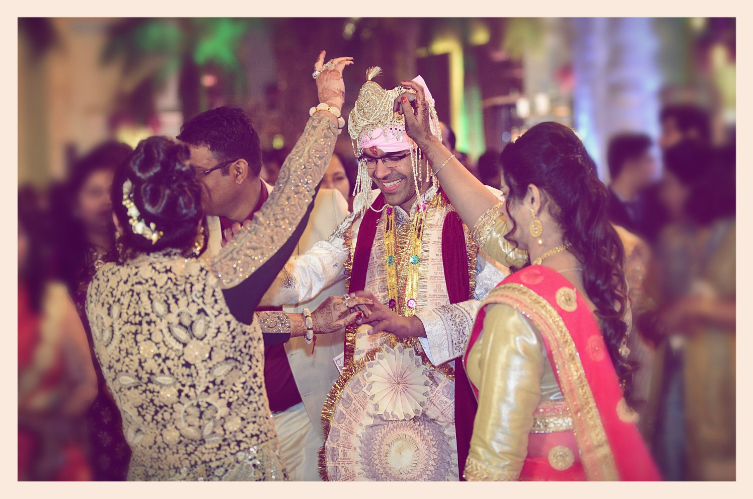 Candid shot of the groom during his wedding ceremony by Himanshu's Lomography Wedding-photography | Weddings Photos & Ideas
