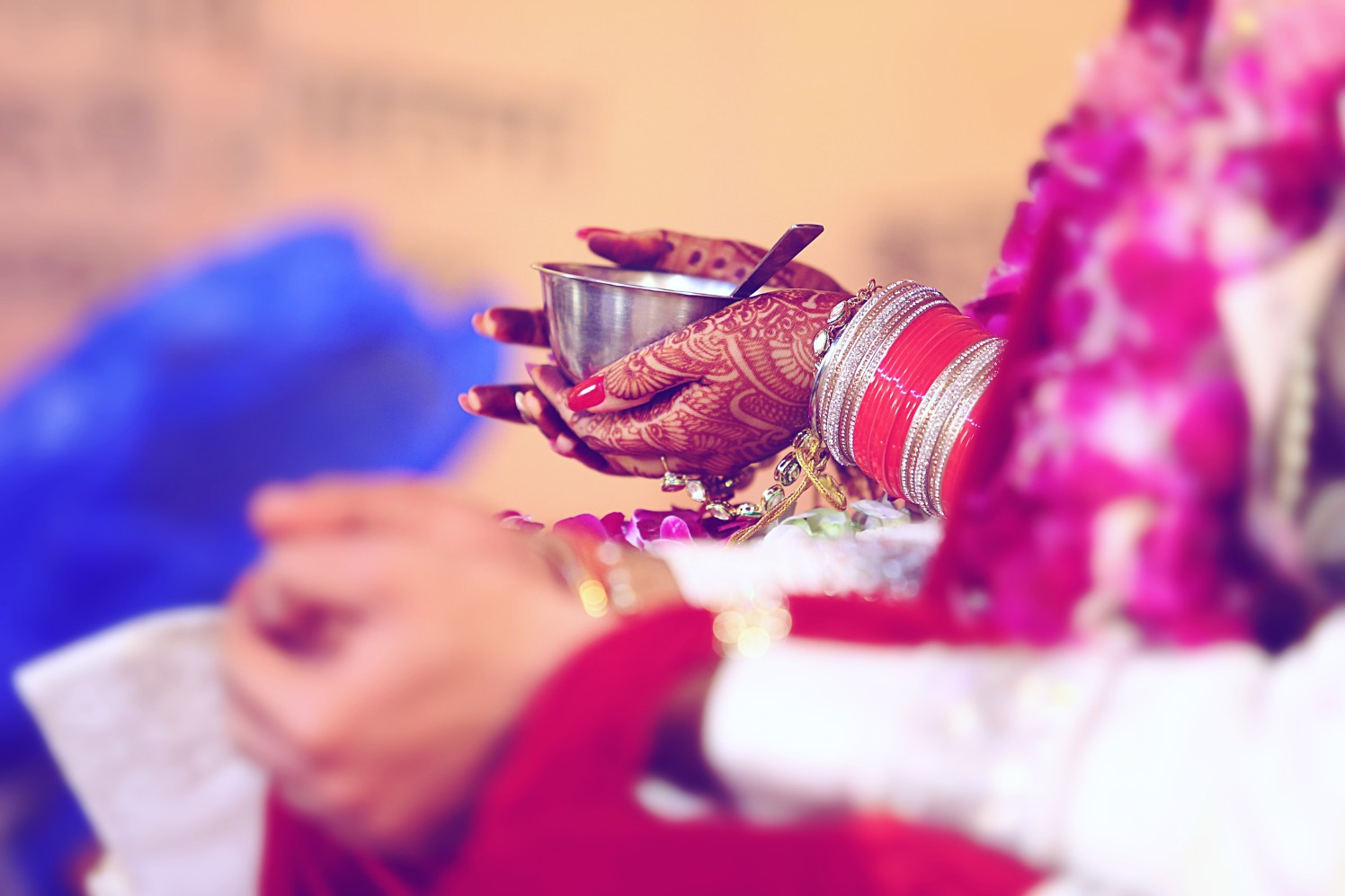 Close up shot of bridal moments during her wedding by Himanshu's Lomography Wedding-photography | Weddings Photos & Ideas
