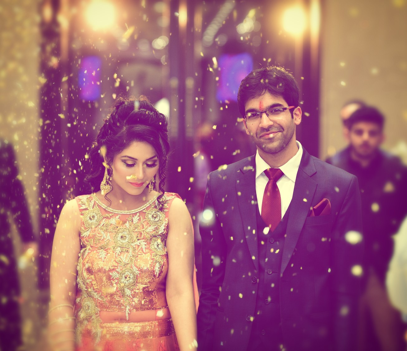 Entry of the bride captured beautifully by Himanshu's Lomography Wedding-photography | Weddings Photos & Ideas