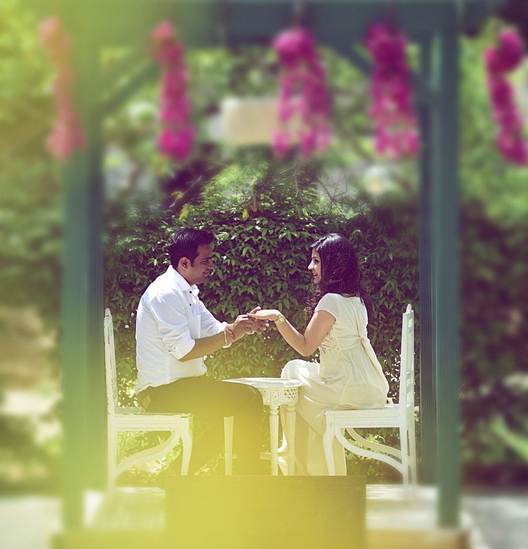 Bride and Groom To-Be on a Date by Himanshu Chauhan Wedding-photography | Weddings Photos & Ideas