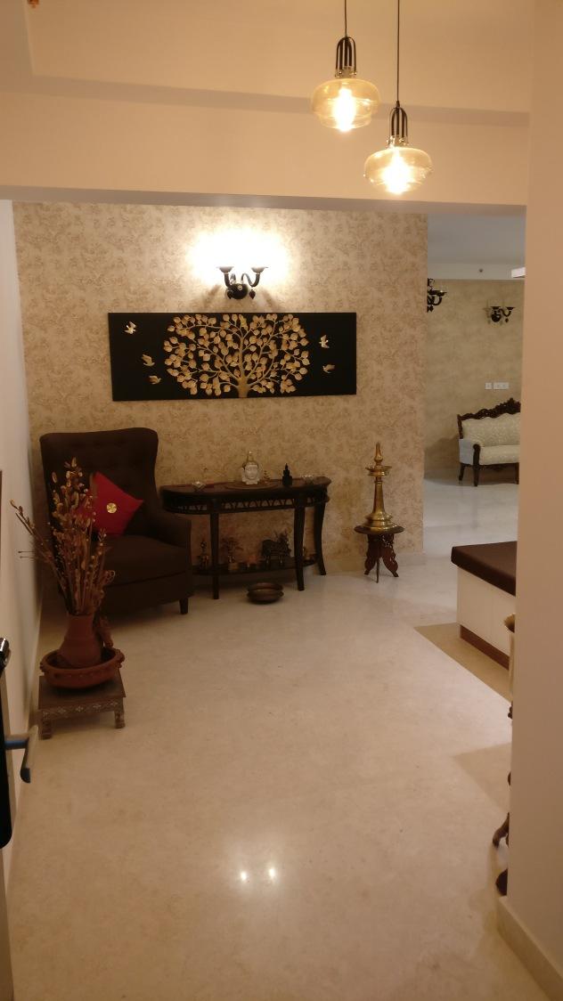Pendant Lights In Modern Hallway by Raghu Indoor-spaces Modern | Interior Design Photos & Ideas