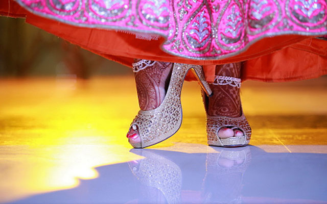 Beautiful bridal footwear by VK Pro Clicks Wedding-photography | Weddings Photos & Ideas