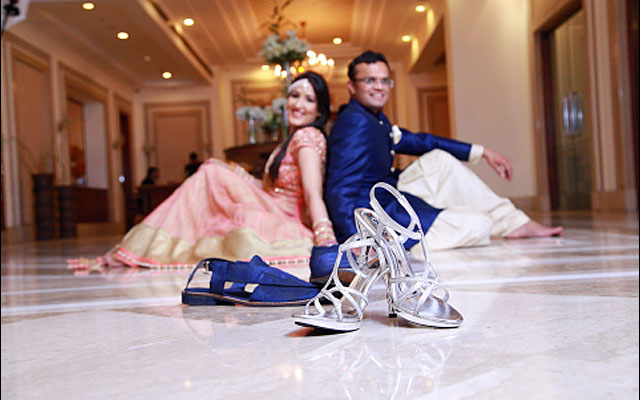 Interesting wedding shoe shot by VK Pro Clicks Wedding-photography | Weddings Photos & Ideas