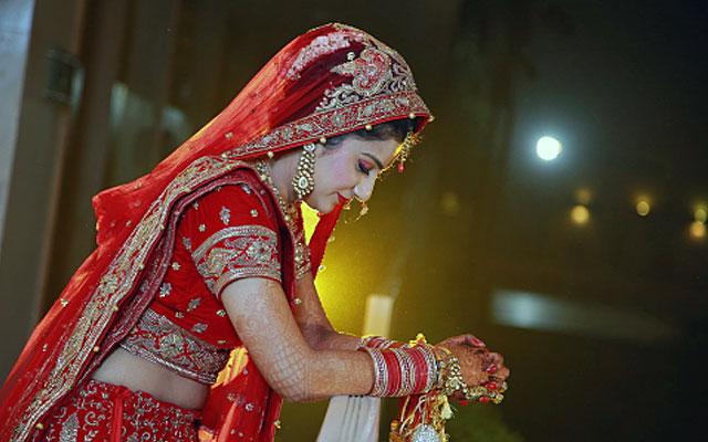 Beautiful bride on her wedding day by VK Pro Clicks Wedding-photography | Weddings Photos & Ideas