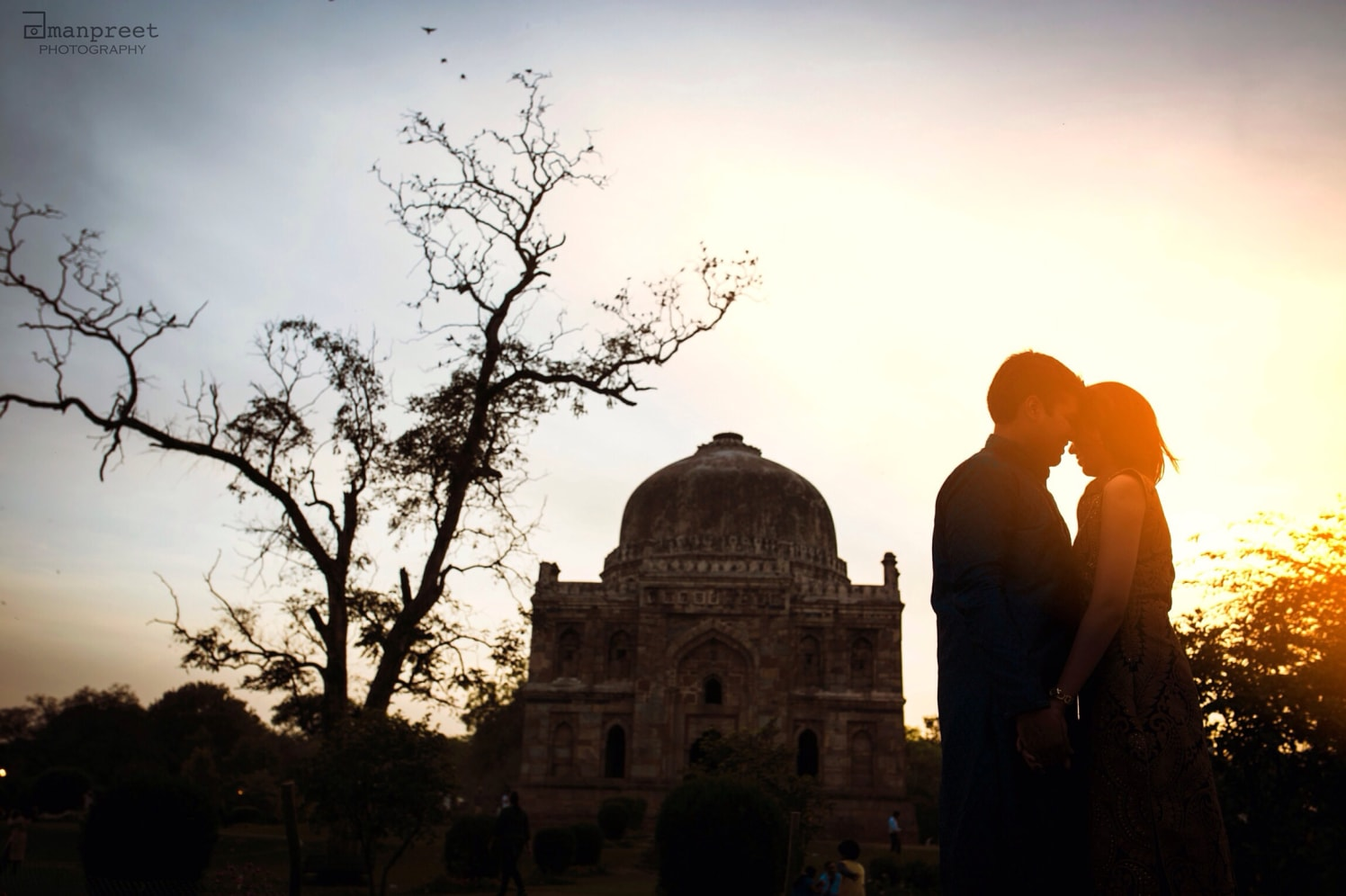 Bride and Groom To-Be Strike a Pose Against Stunning Backdrop by Amanpreet Kaur Wedding-photography | Weddings Photos & Ideas