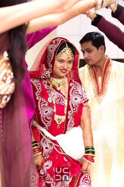 Unique candid shot of bride during her wedding day by Photography  Wedding-photography | Weddings Photos & Ideas