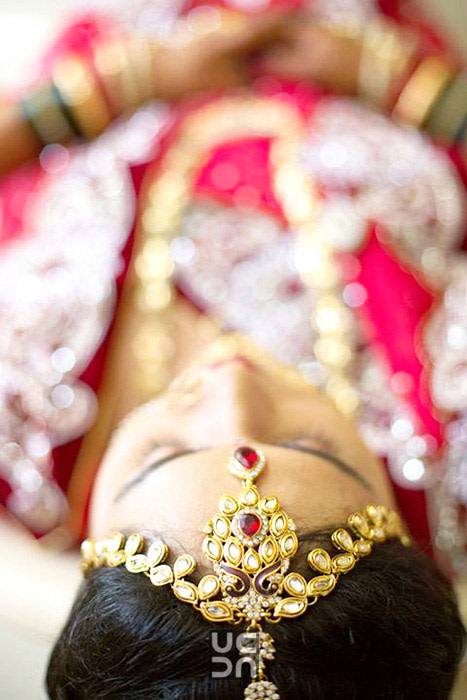 Beautiful bridal mang teeka by Photography  Wedding-photography | Weddings Photos & Ideas