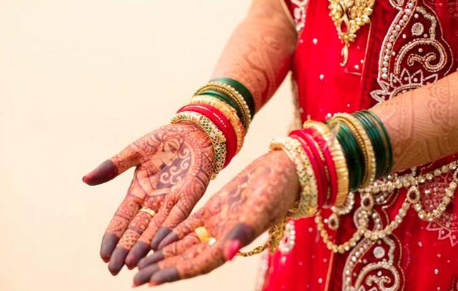 Beautiful bridal hand mehendi by Photography  Wedding-photography | Weddings Photos & Ideas