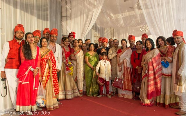 Red Baraati Celebration! by InspiredClicks Wedding-photography | Weddings Photos & Ideas