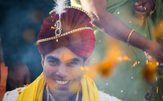 Joyfully Handsome Groom by InspiredClicks Wedding-photography | Weddings Photos & Ideas