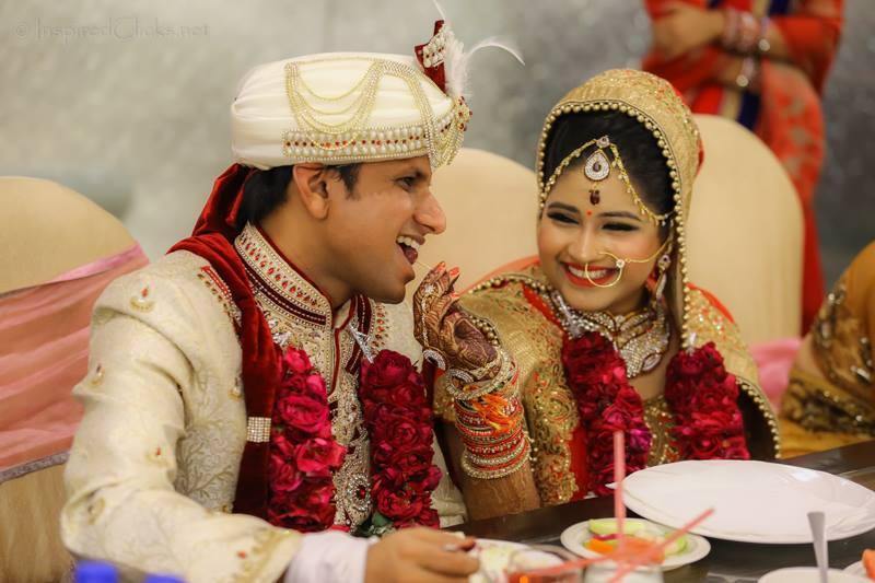 Feeding her lover by InspiredClicks Wedding-photography | Weddings Photos & Ideas