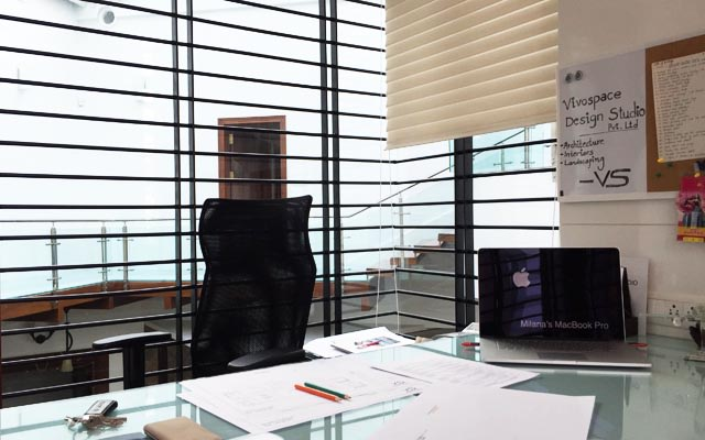 Modern office cabin by Vivospace Architects Modern | Interior Design Photos & Ideas